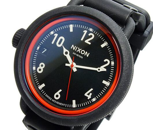 ニクソン NIXON OCTOBER クオーツ メンズ 腕時計 A488-760 ブラック