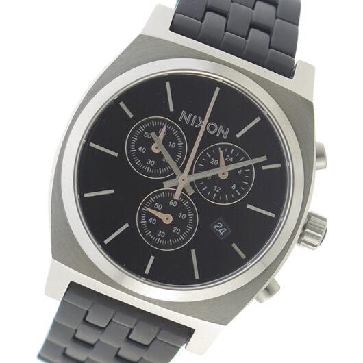 ニクソン NIXON  クオーツ メンズ 腕時計 A972-2541 ブラック ブラック