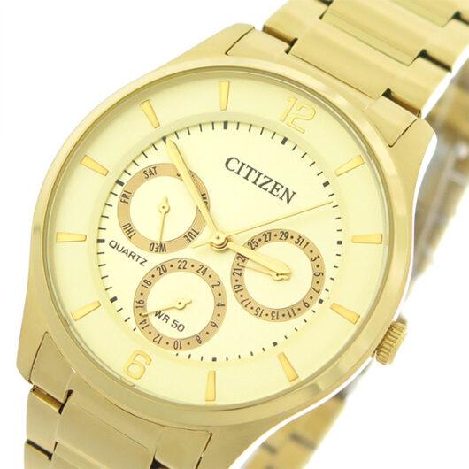 シチズン CITIZEN   クオーツ メンズ 腕時計 AG8353-81P シャンパンゴールド/ゴールド シャンパンゴールド