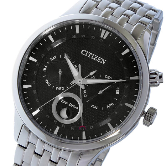 シチズン CITIZEN エコドライブ ソーラー クオーツ メンズ 腕時計 AP1050-56E ブラック ブラック
