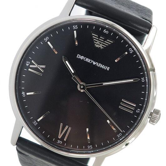 エンポリオ アルマーニ EMPORIO ARMANI クオーツ メンズ 腕時計 AR11013 ブラック ブラック