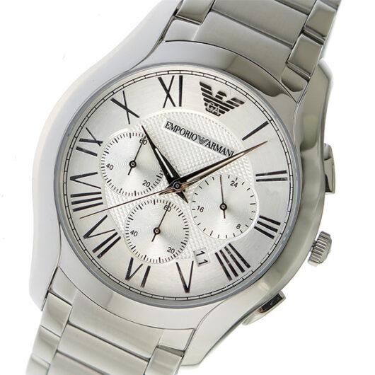エンポリオ アルマーニ EMPORIO ARMANI クオーツ メンズ 腕時計 AR11081 シルバー シルバー