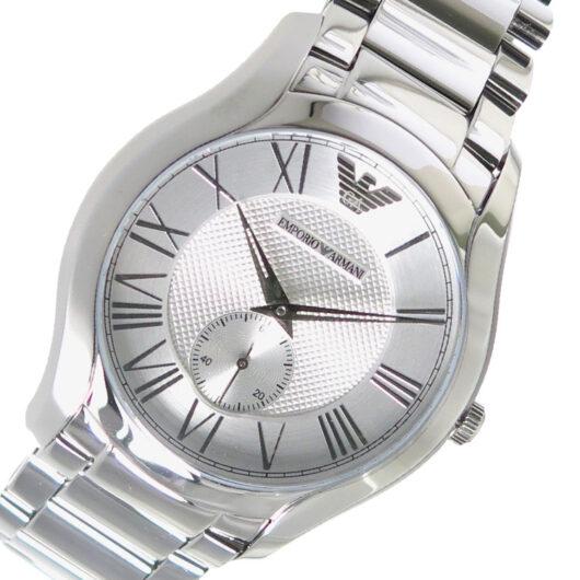 エンポリオ アルマーニ EMPORIO ARMANI クオーツ メンズ 腕時計 AR11084 シルバー シルバー
