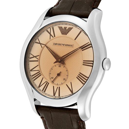 エンポリオ アルマーニ EMPORIO ARMANI クオーツ メンズ 腕時計 AR1704 ブラウン ブラウン