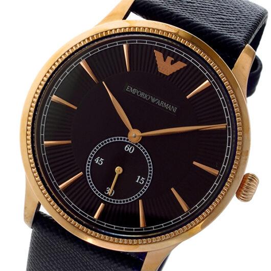 エンポリオ アルマーニ EMPORIO ARMANI アルファ ALPHA クオーツ メンズ 腕時計 AR1798 ブラック ブラック