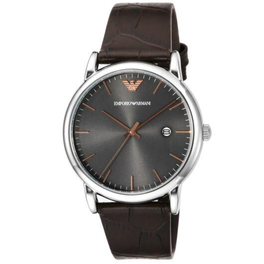 エンポリオ アルマーニ EMPORIO ARMANI クオーツ メンズ 腕時計 AR1996 グレー グレー