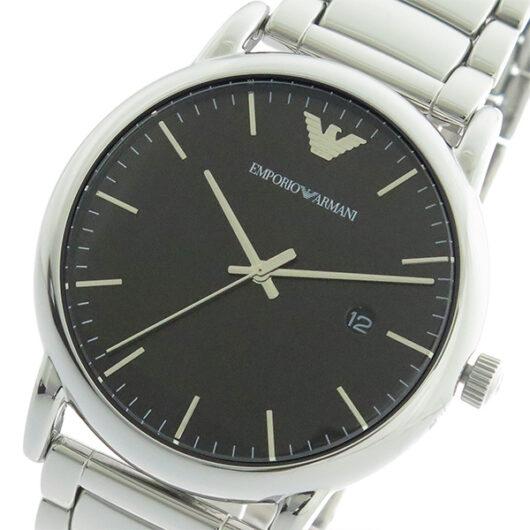 エンポリオ アルマーニ EMPORIO ARMANI KAPPA クオーツ メンズ 腕時計 AR2499 ブラック/シルバー ブラック
