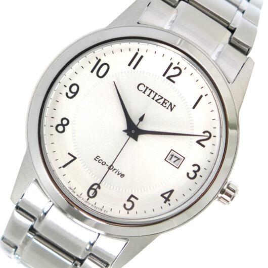 シチズン CITIZEN エコ・ドライブ クオーツ メンズ 腕時計 AW1231-58B シルバー シルバー
