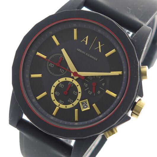 アルマーニエクスチェンジ ARMANI EXCHANGE 腕時計 メンズ AX1335 クォーツ ブラック ブラック