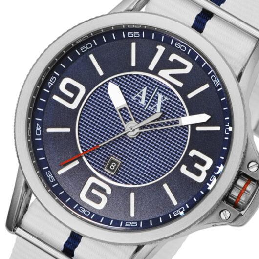 アルマーニ エクスチェンジ クオーツ メンズ 腕時計 AX1580 ブルー ブルー