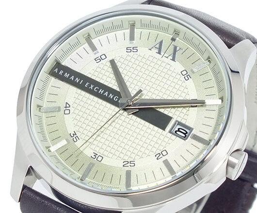 アルマーニ エクスチェンジ ARMANI EXCHANGE 腕時計 AX2100 シルバー