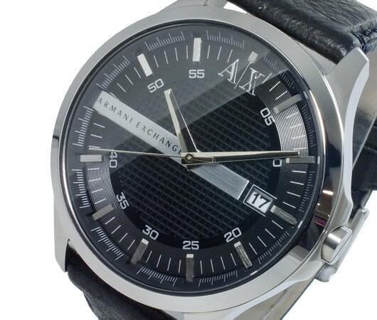アルマーニ エクスチェンジ ARMANI EXCHANGE クオーツ メンズ 腕時計 AX2101 ブラック