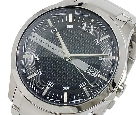 アルマーニ エクスチェンジ ARMANI EXCHANGE クオーツ メンズ 腕時計 AX2103 ブラック