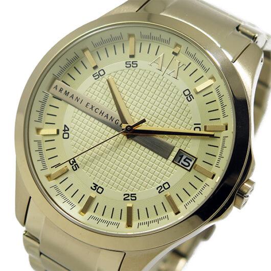 アルマーニ エクスチェンジ クオーツ メンズ 腕時計 AX2131 シャンパンゴールド シャンパンゴールド