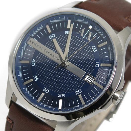 アルマーニ エクスチェンジ クオーツ メンズ 腕時計 AX2133 ネイビー ネイビー
