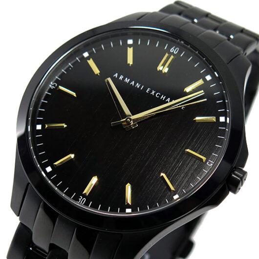 アルマーニ エクスチェンジ クオーツ メンズ 腕時計 AX2144 ブラック ブラック