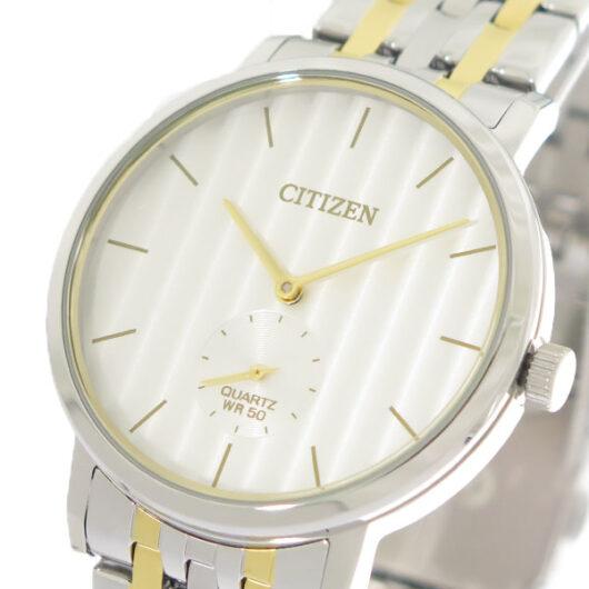 シチズン CITIZEN   クオーツ メンズ 腕時計 BE9174-55A パールホワイト/シルバー×ゴールド パールホワイト