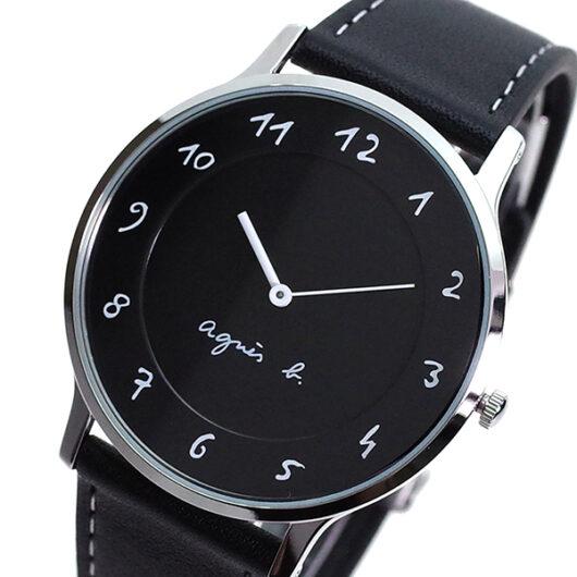 アニエスベー AGNS B 腕時計 メンズ BJ5005X1 クォーツ ブラック
