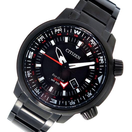 シチズン CITIZEN エコ・ドライブ クオーツ メンズ 腕時計 BJ7086-57E ブラック ブラック