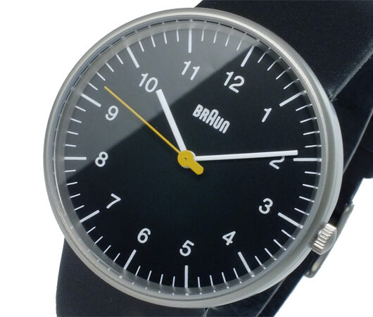 ブラウン BRAUN クオーツ メンズ 腕時計 BN0021BKBKG ブラック