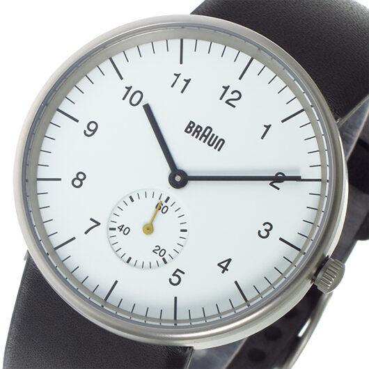 ブラウン BRAUN クオーツ メンズ 腕時計 BN0024WHBKG ホワイト ホワイト