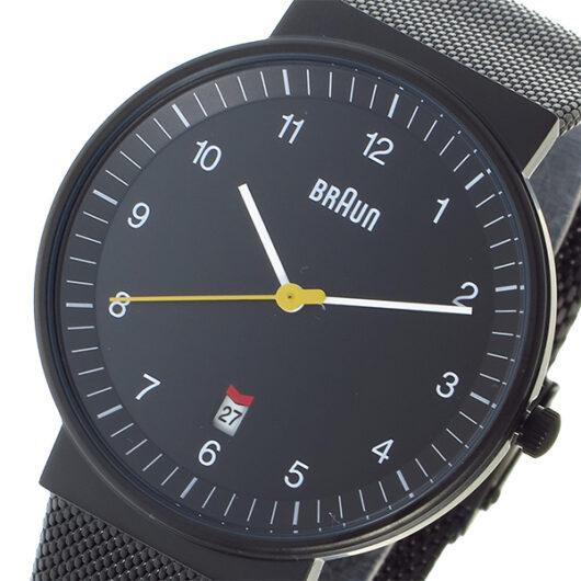 ブラウン BRAUN クオーツ メンズ 腕時計 BN0032BKBKMHG ブラック ブラック