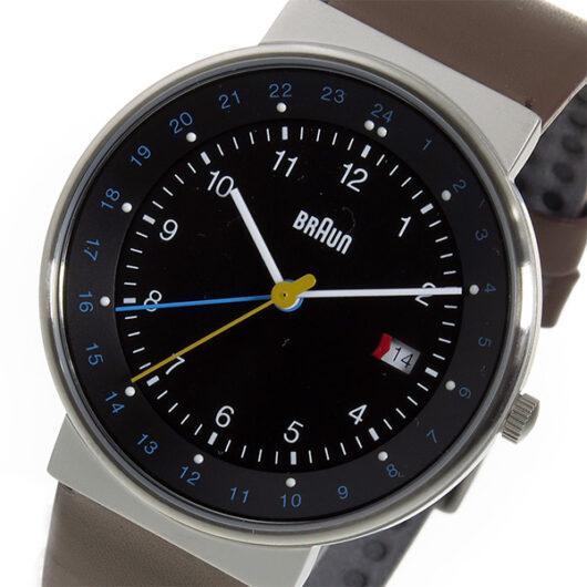ブラウン BRAUN クオーツ メンズ 腕時計 BN0142BKBRG ブラック ブラック