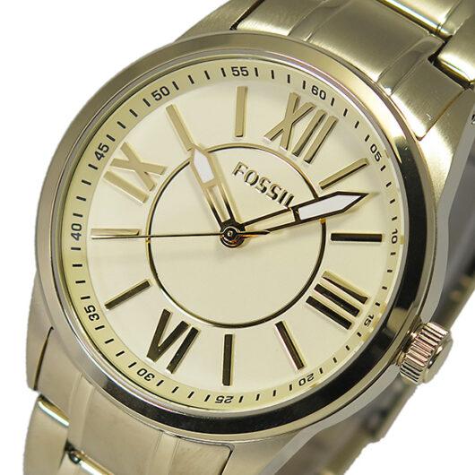 フォッシル FOSSIL クオーツ メンズ 腕時計 BQ1136 アイボリー アイボリー