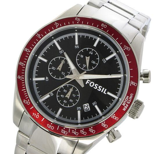 フォッシル FOSSIL クロノ クオーツ メンズ 腕時計 BQ2086 ブラック ブラック