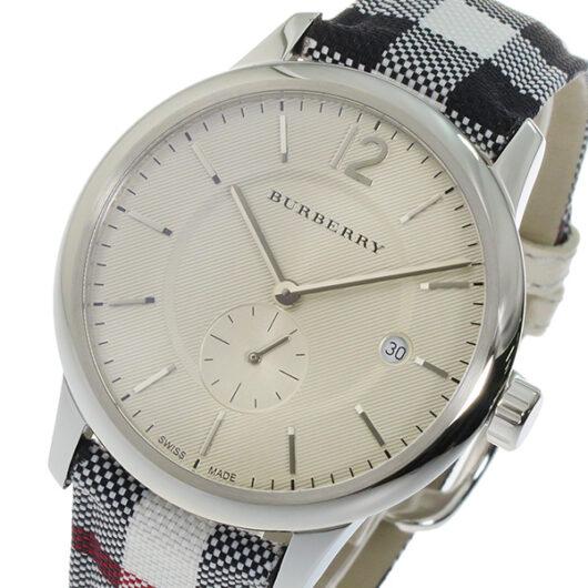 バーバリー BURBERRY クオーツ メンズ 腕時計 BU10002 シルバー シルバー