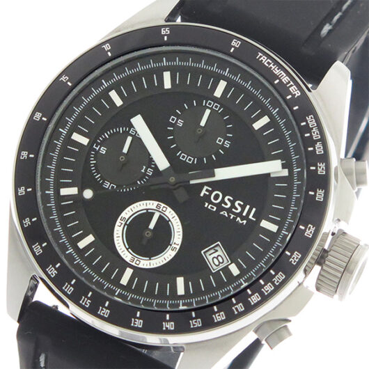 フォッシル FOSSIL クオーツ メンズ 腕時計 CH2573IE ブラック/ブラック ブラック