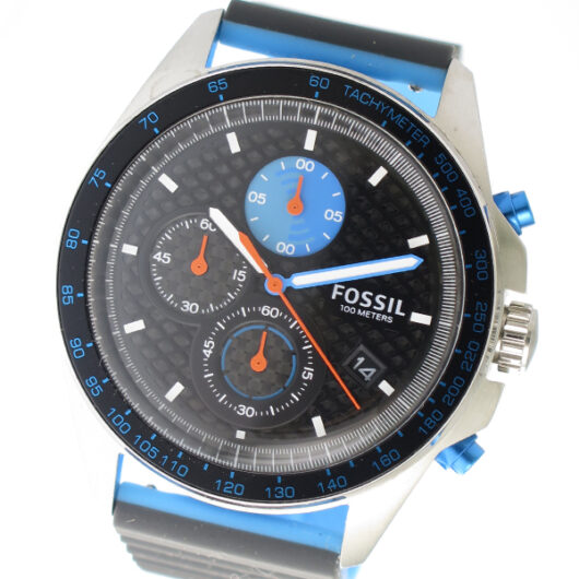 フォッシル FOSSIL クロノ クオーツ メンズ 腕時計 CH3079 ブラック ブラック