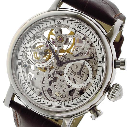 アルカ フトゥーラ ARCA FUTURA 手巻き クロノ メンズ 腕時計 CW3002BR スケルトン スケルトン