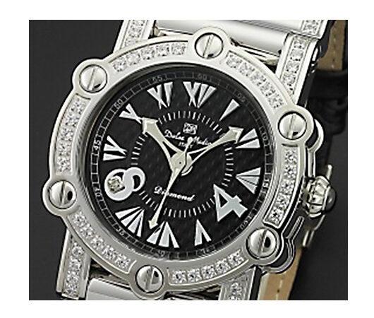 ドルチェ メディオ DOLCE MEDIO 腕時計 DM11211-SSBK ホワイト