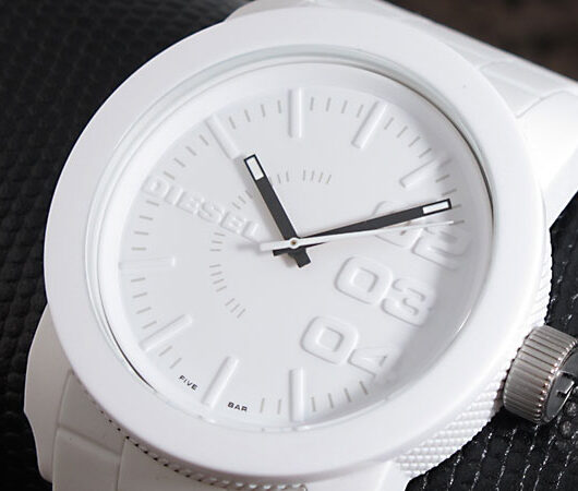 ディーゼル DIESEL クオーツ メンズ 腕時計 DZ1436 ホワイト ホワイト