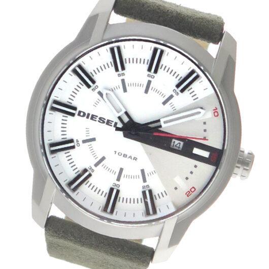 ディーゼル DIESEL クオーツ メンズ 腕時計 DZ1781 ホワイト ホワイト