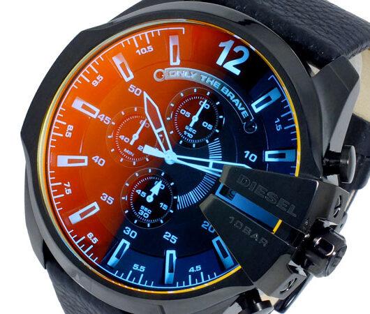 ディーゼル DIESEL クオーツ メンズ クロノ 腕時計 DZ4323 ブラック