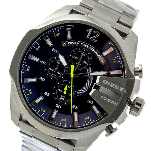 ディーゼル DIESEL クオーツ メンズ 腕時計 DZ4465 ネイビー グレー