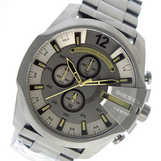 ディーゼル DIESEL クオーツ クロノ メンズ 腕時計 DZ4466 グレー グレー