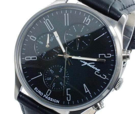 アルカ フトゥーラ ARCA FUTURA クオーツ メンズ 腕時計 EC483BK ブラック ブラック