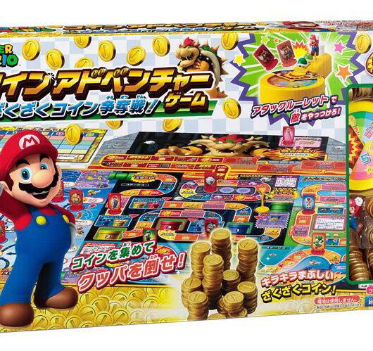 4905040063823 スーパーマリオ コインアドベンチャーゲーム ざくざくコイン争奪戦!