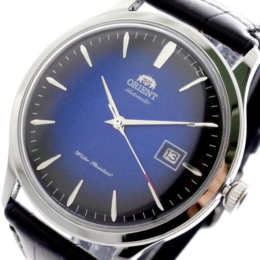 オリエント ORIENT 腕時計 メンズ FAC08004D0 自動巻き ブルー ブラック ブルー