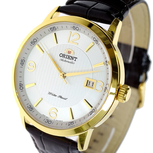 オリエント ORIENT 腕時計 メンズ FER27004W0 自動巻き シルバー ブラック