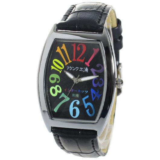 フランク三浦 インターネッツ別注 メンズ 腕時計 FM00IT-CRBK ブラック/ブラック 【ネット限定】 ブラック