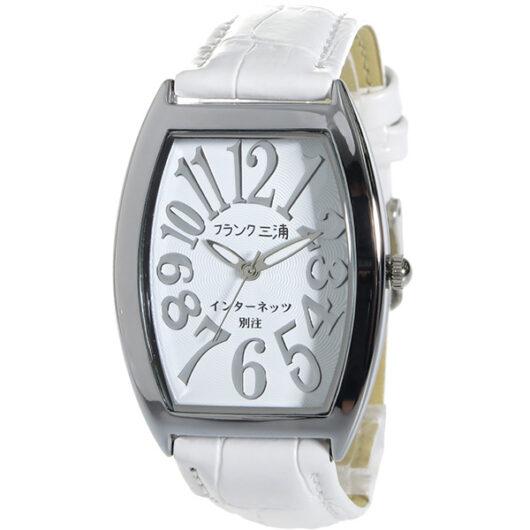 フランク三浦 インターネッツ別注 メンズ 腕時計 FM00IT-SVWH ホワイト/ホワイト 【ネット限定】 ホワイト