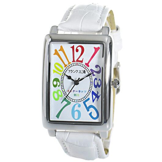 フランク三浦 インターネッツ別注 メンズ 腕時計 FM01IT-CRWH ホワイト/ホワイト 【ネット限定】 ホワイト