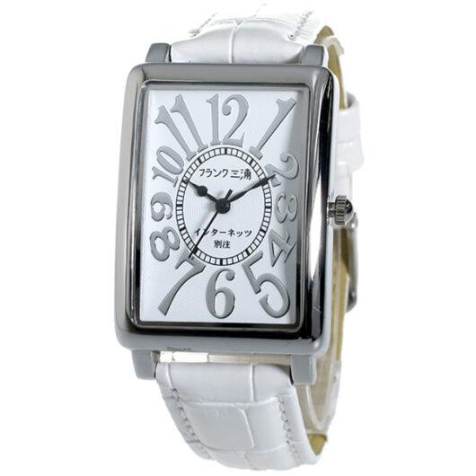 フランク三浦 インターネッツ別注 メンズ 腕時計 FM01IT-SVWH ホワイト/ホワイト 【ネット限定】 ホワイト