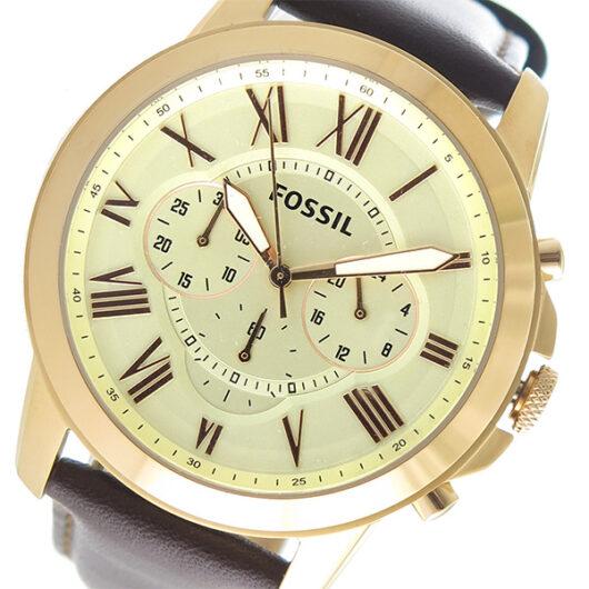 フォッシル FOSSIL クオーツ メンズ 腕時計 FS4991 アイボリー アイボリー