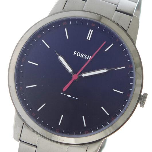 フォッシル FOSSIL クオーツ メンズ 腕時計 FS5377 ネイビー ネイビー