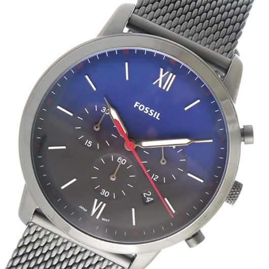 フォッシル FOSSIL クオーツ メンズ 腕時計 FS5383 ネイビー ネイビー